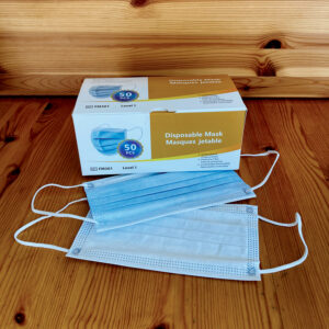 Disposable 3 Layer Mask – Level 1 – ASTM F2100