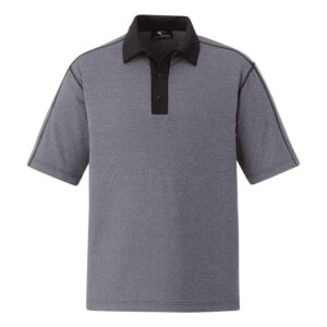 Polo shirt with snap closure