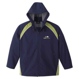 Two-toned unlined soft shell