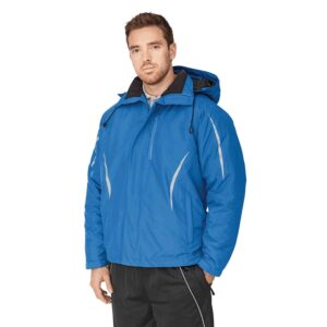 Insulated two-toned jacket