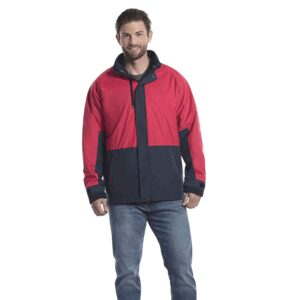 Two-toned 3-in-1 jacket