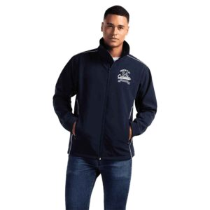 Unlined soft shell jacket