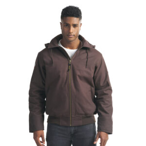 Big Red – Bomber Jacket with Sherpa Lining