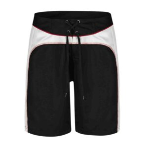Two-toned unlined board shorts