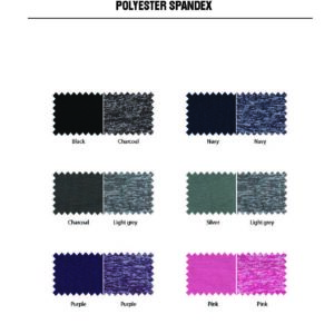 Polyester Spandex Colours