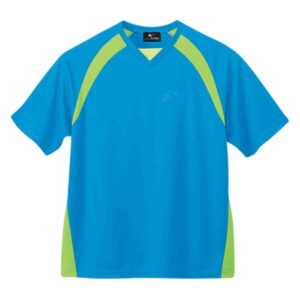 Two-toned v-neck t-shirt